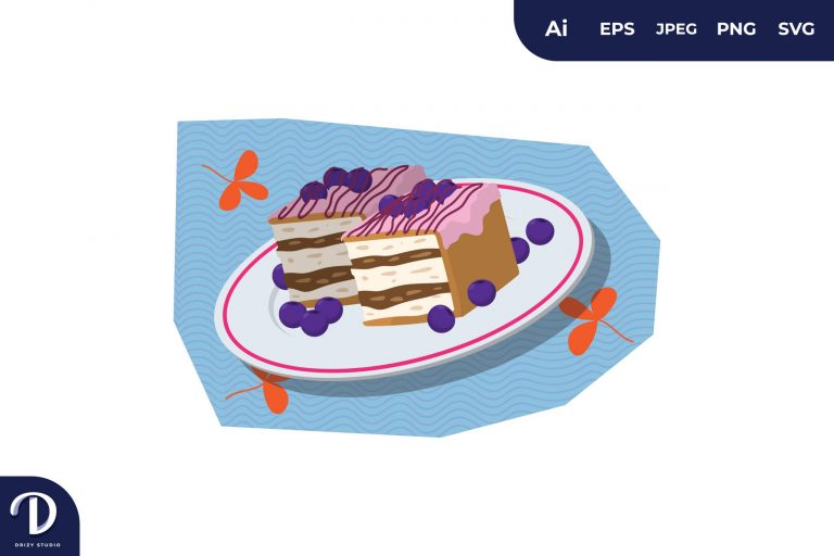 Preview image of Grape Cake Illustration