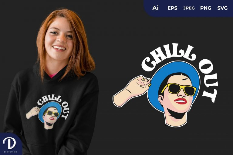 Enjoy Chill Out for T-Shirt Design
