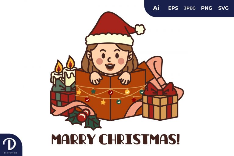 Christmas Gnome and Gifts