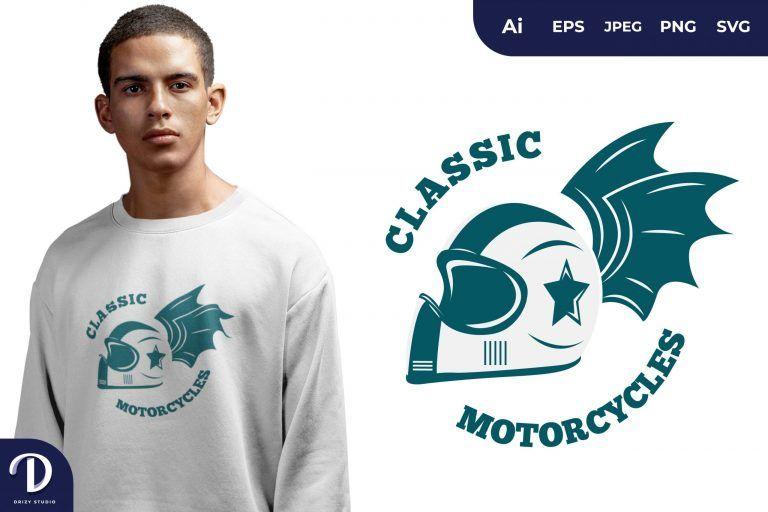 Tosca Classic Biker for T-Shirt Design
