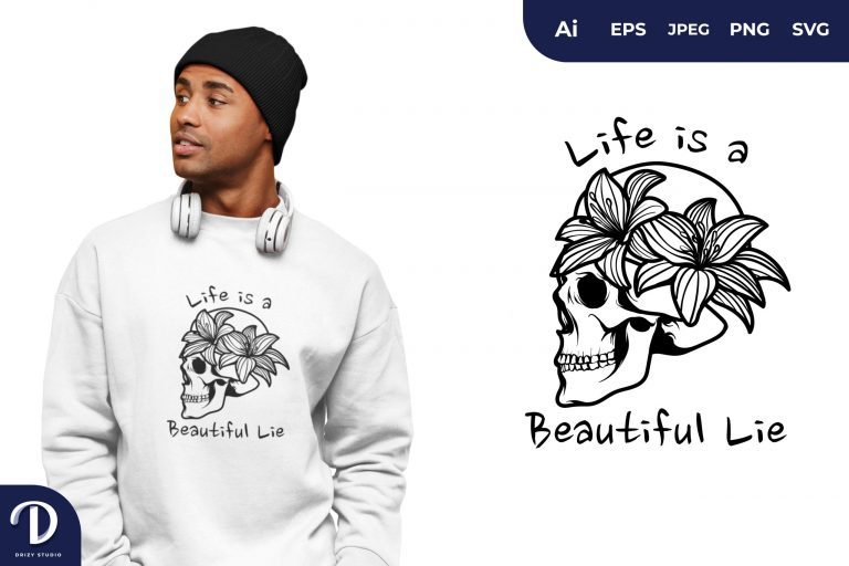 Death Quote for T-Shirt Design