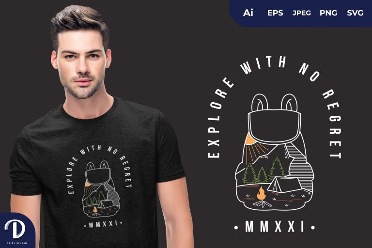 Forest Explore with No Regret for T-Shirt Design