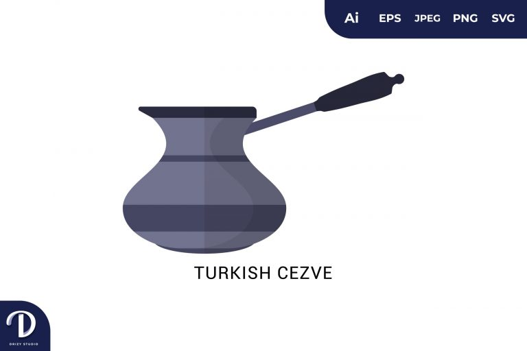 Preview image of Turkish Cezve Flat Design Coffee Brewing Methods
