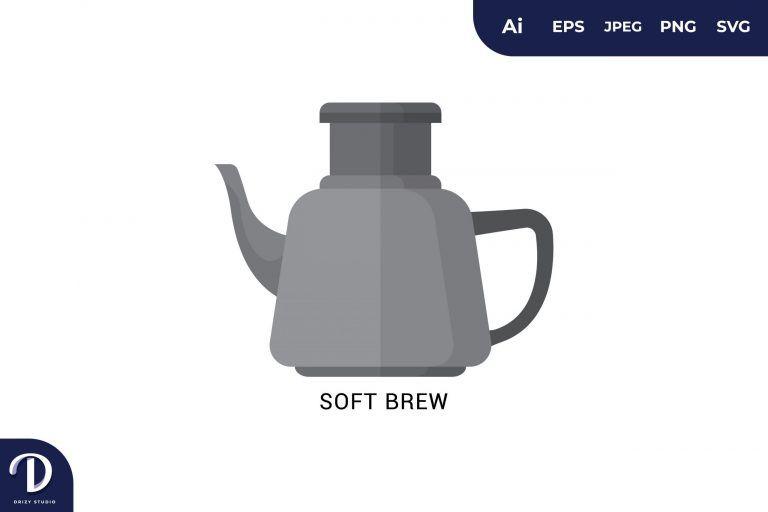 Soft Brew Flat Design Coffee Brewing Methods