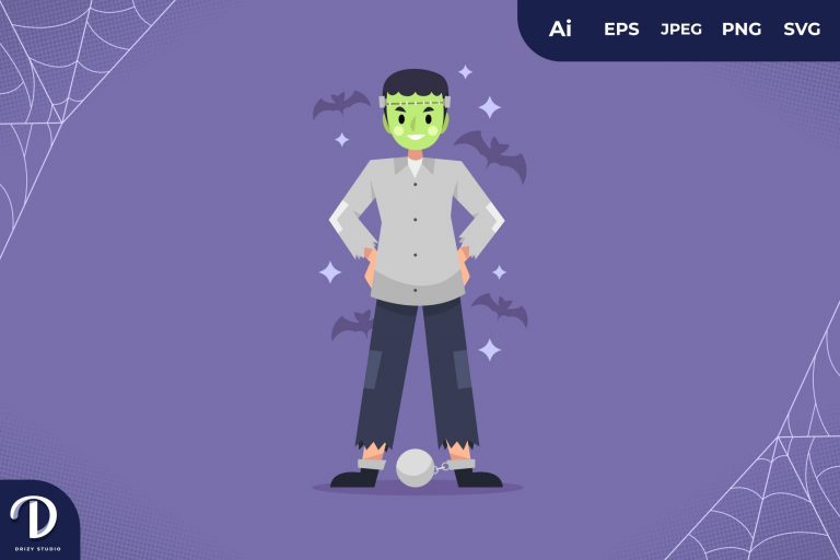 Preview image of Frankenstein Halloween Party Costume