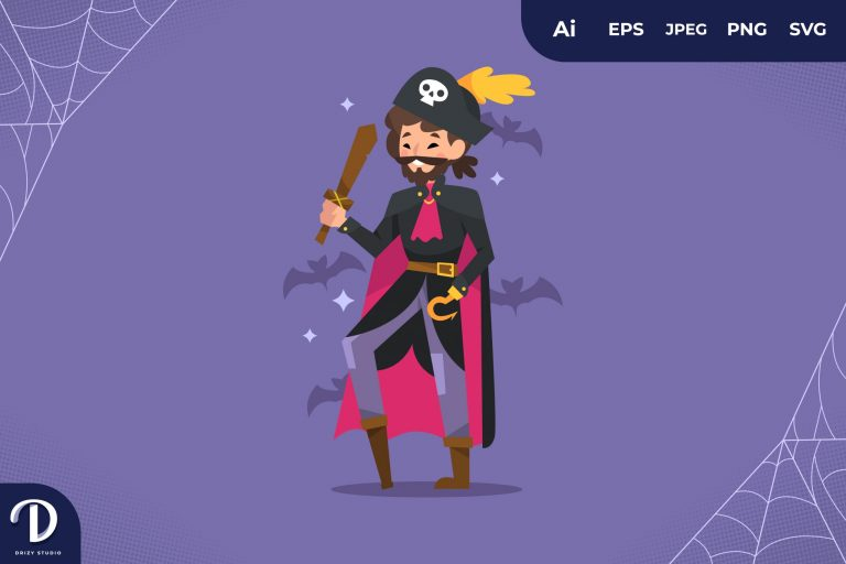 Pirate Halloween Party Costume