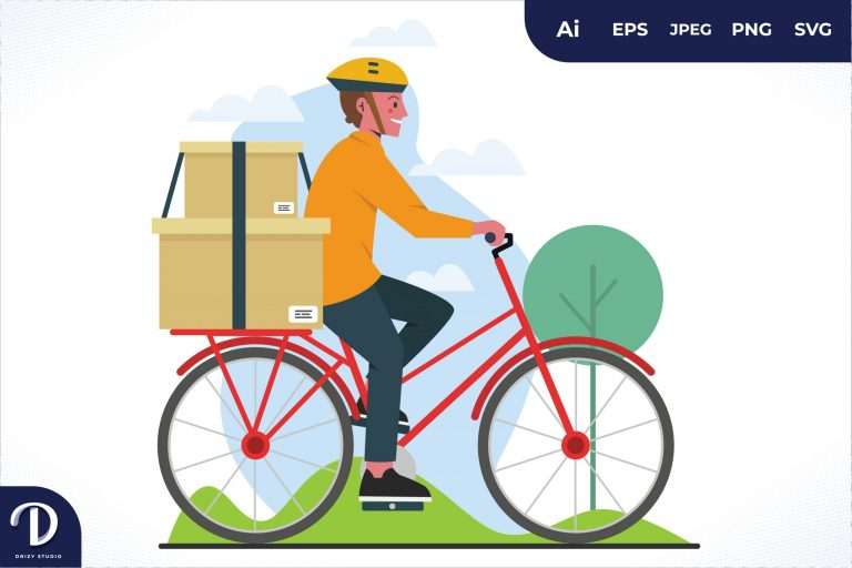 Preview image of Bike Home Delivery Worker