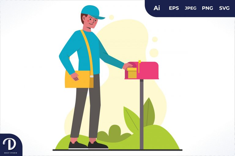 Preview image of Mailbox Home Delivery Worker