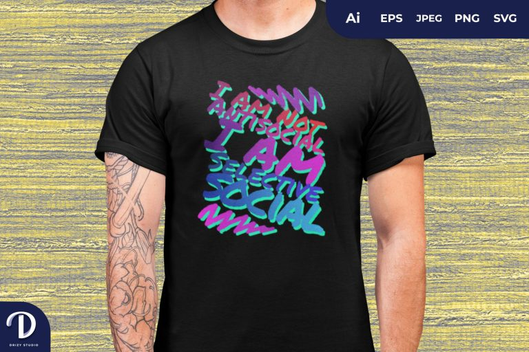 Introvert Quotes for T-Shirt Design
