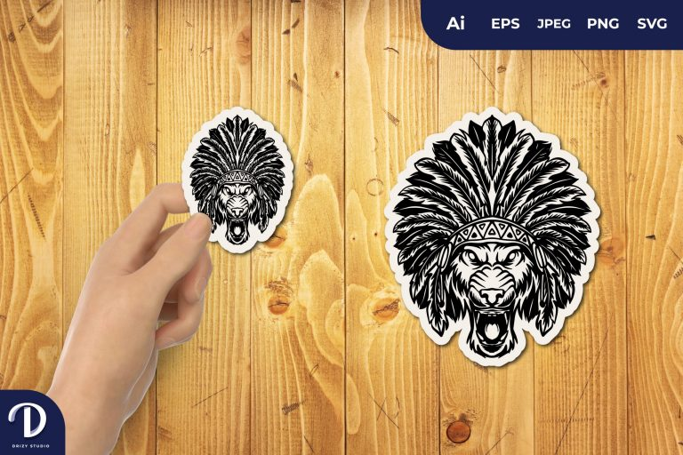 Preview image of Indian Wolf for Sticker