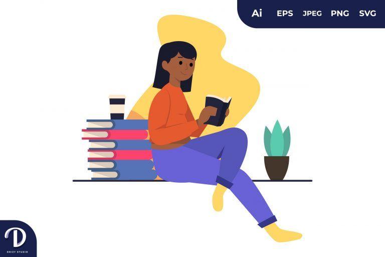 Focus on Reading Learning Illustration