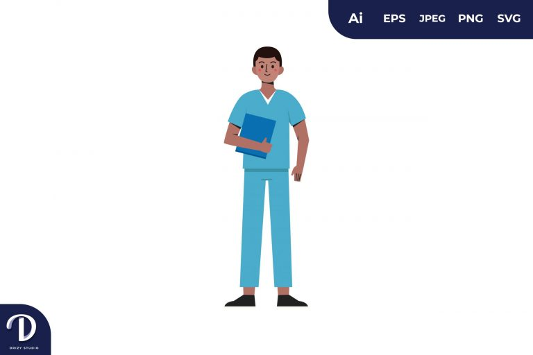 Men Medical Team Illustration