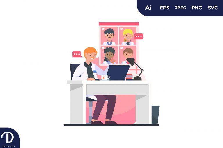 Doctor Online Meeting