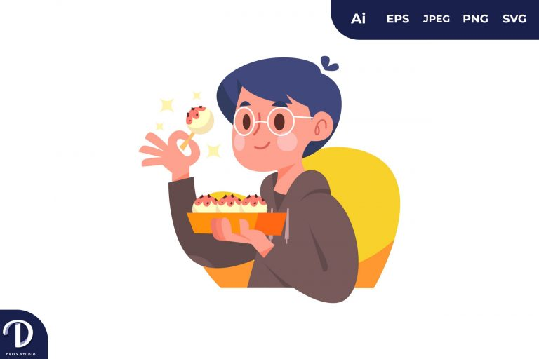 Preview image of People with Food Concept