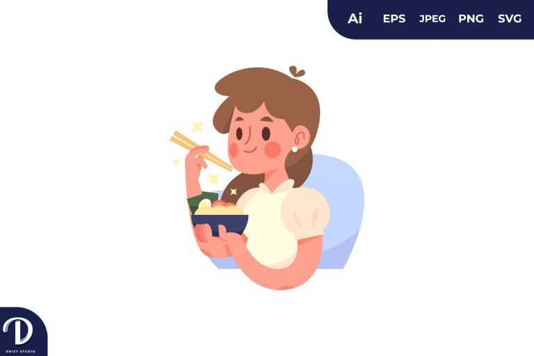 Preview image of Ramen People with Food Concept
