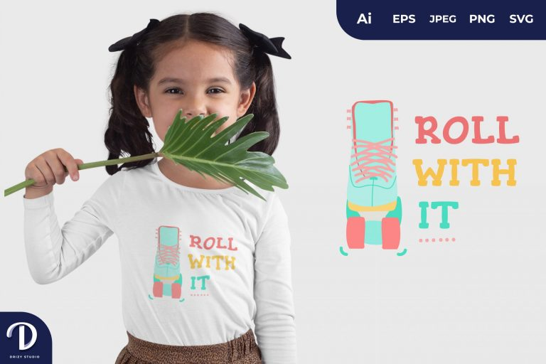 Preview image of Roll with It for T-Shirt Design