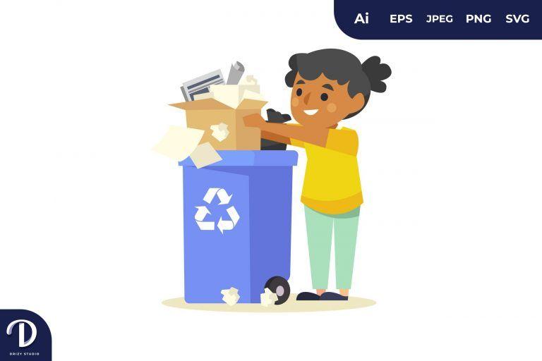 Sorting Paper Trash