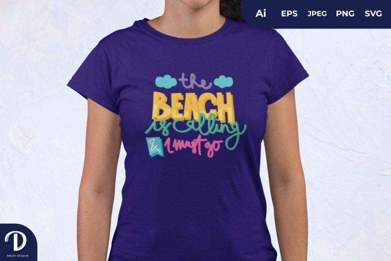 Summer Quotes For T-Shirt Design