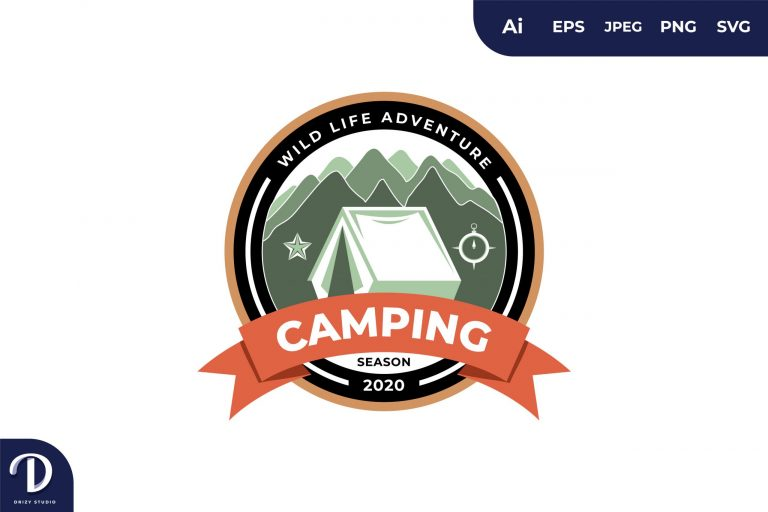 Preview image of Vintage Camping and Adventures for Sticker