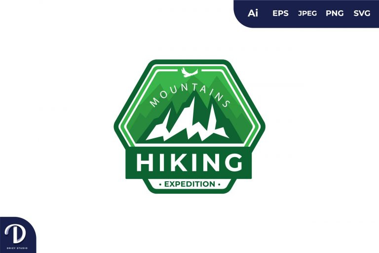 Preview image of Mountain Hiking Vintage Camping and Adventures for Sticker