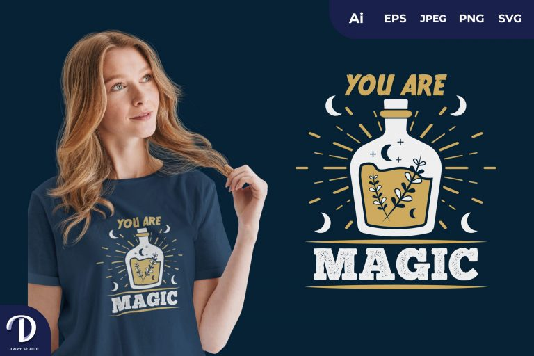 Potion You Are Magic for T-Shirt Design