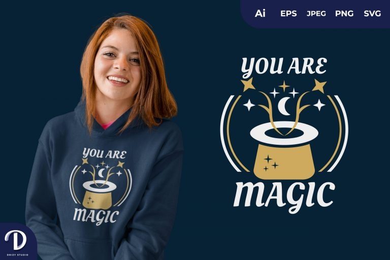 Preview image of You Are Magic for T-Shirt Design