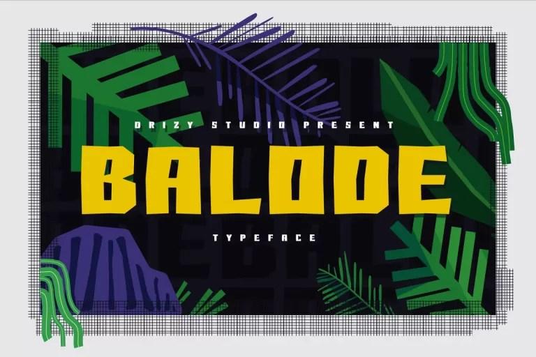 Balode