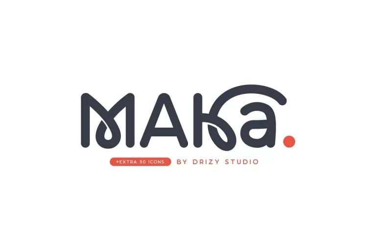 Maka Typeface