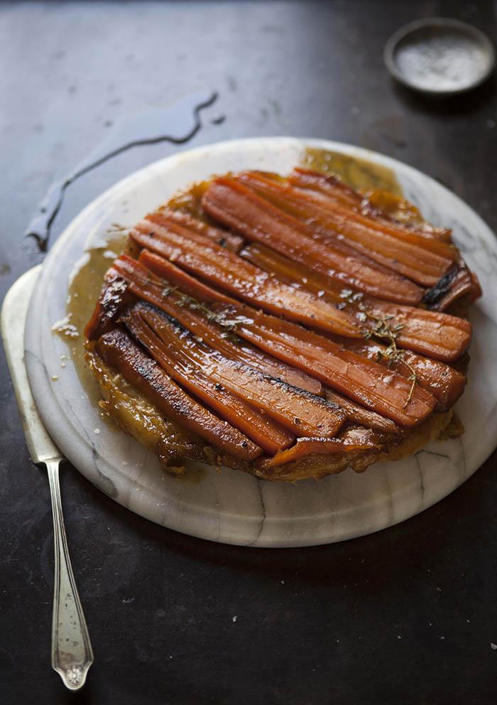 carrot-tart-tartin