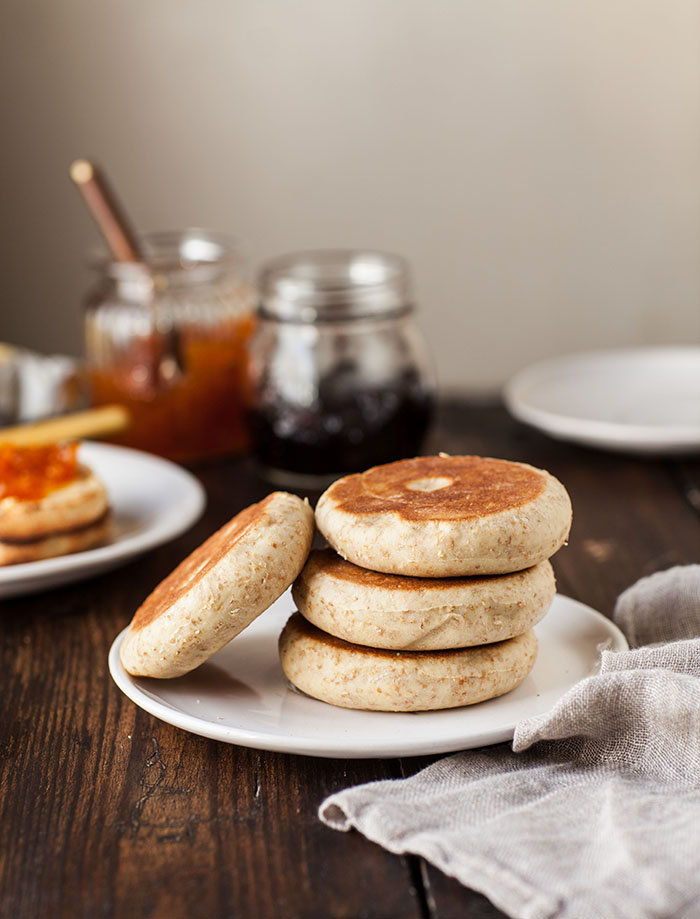 wholewheat english muffins