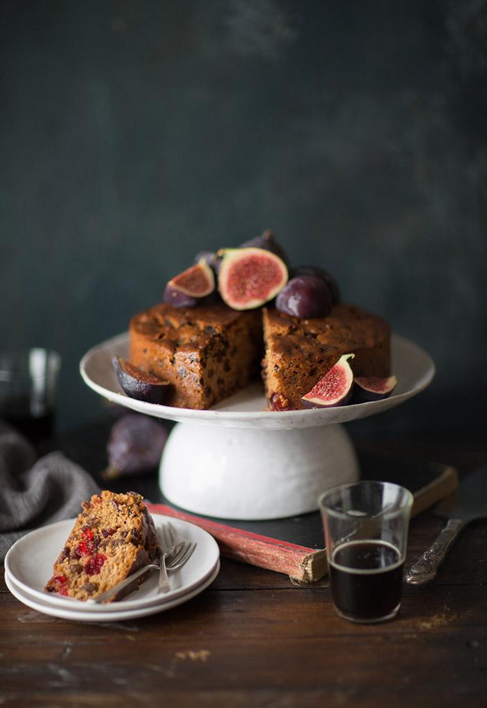 easy stout fruit cake