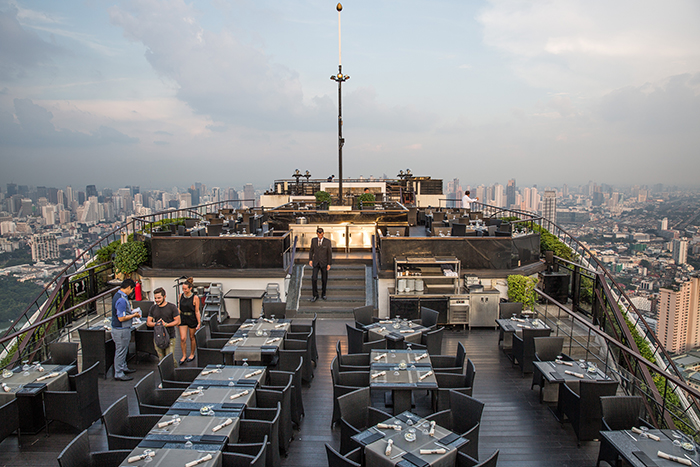 Banyan Tree Sky Bar, Bangkok