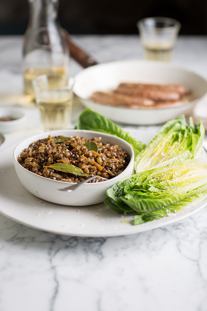 The perfect lentil salad