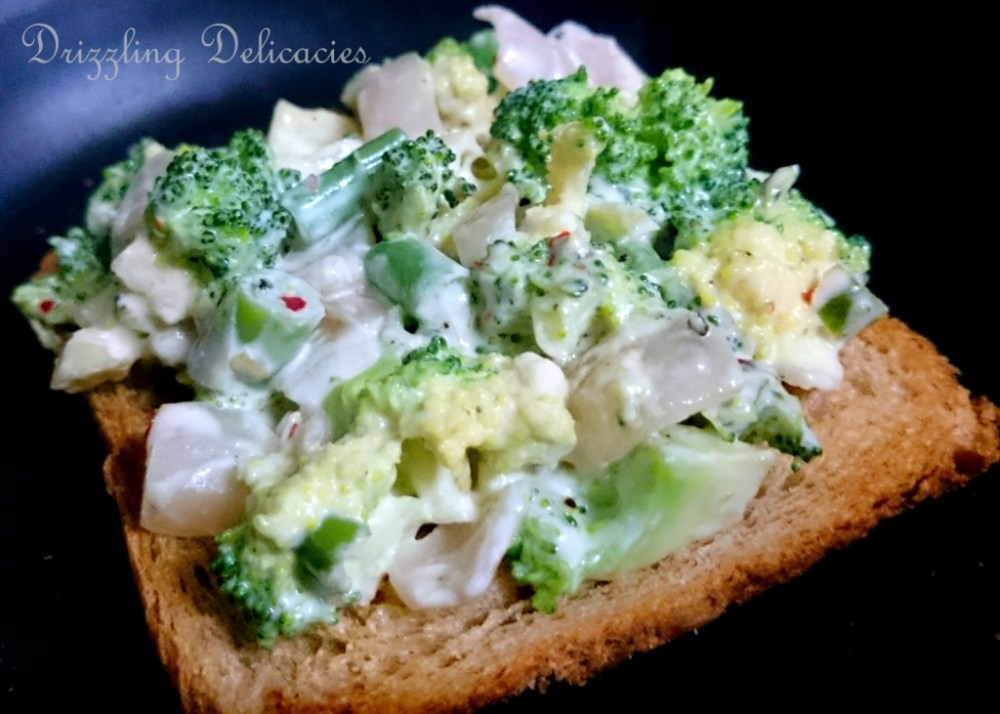 Broccoli and Cream on Toast (6/6)