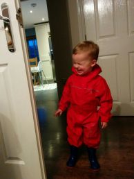 Off out on a very wet Christmas Day walk