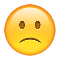 slightly-frowning-face