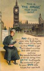 And this is the poor little Suffragette