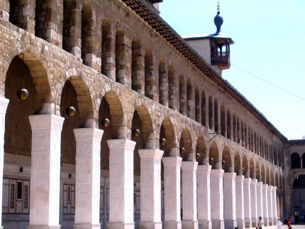Damascus Umayyad Mosque Columns