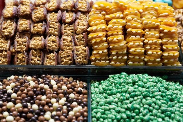 various foods