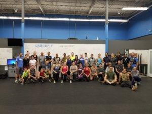 Group of CrossFit participants