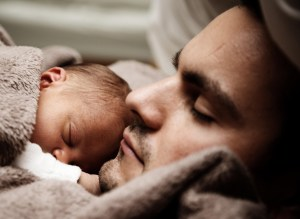 child and father