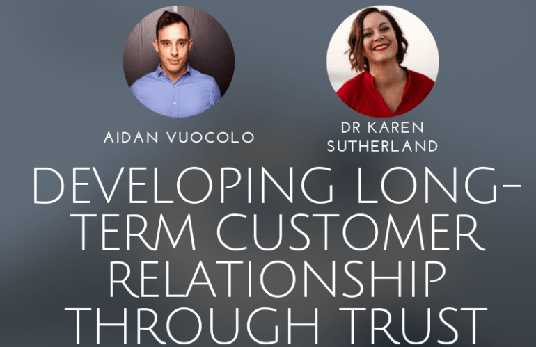Developing Long-Term Customer Relationships Through Trust