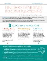 Understanding Executive Functioning