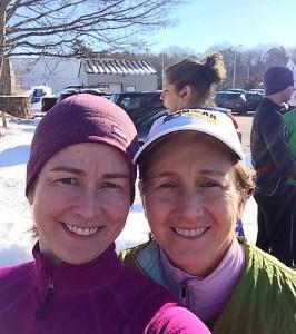 running in February, fitness