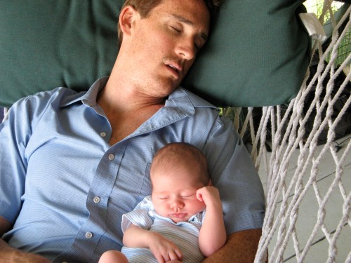Sleep like a baby, or a new parent