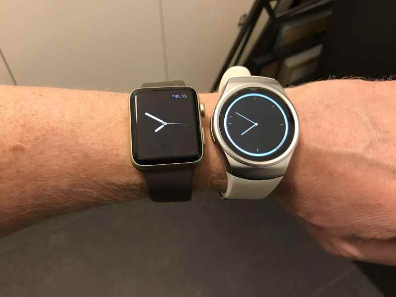 King Wear 18 vs. Apple Watch 2