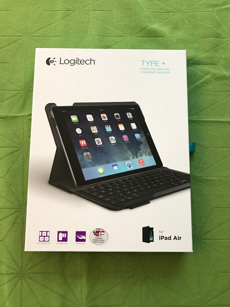 Logitech keyboard Ipad Air