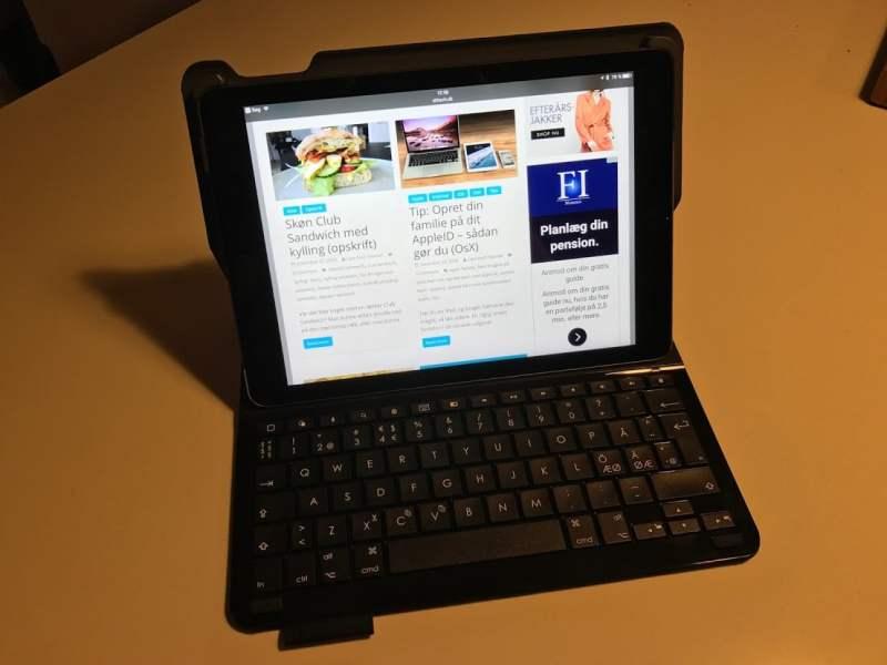 Logitech Type+ keyboard Ipad Air