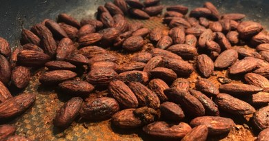 Opskrift på soyamandler hjemmelavede soya mandler homemade soy glazed almonds snack