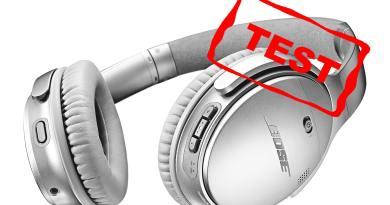 QC35 II 2 quiet comfort test bedste støjreducerende høretelefoner Quiet Comfort QuietComfort bluetooth mobil telefonsamtaler